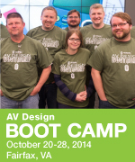 AV Design Boot Camp