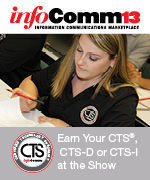 CTS Exams at InfoComm 2013