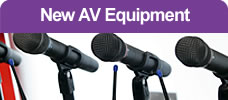 New AV Equipment