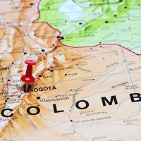 Bogota map